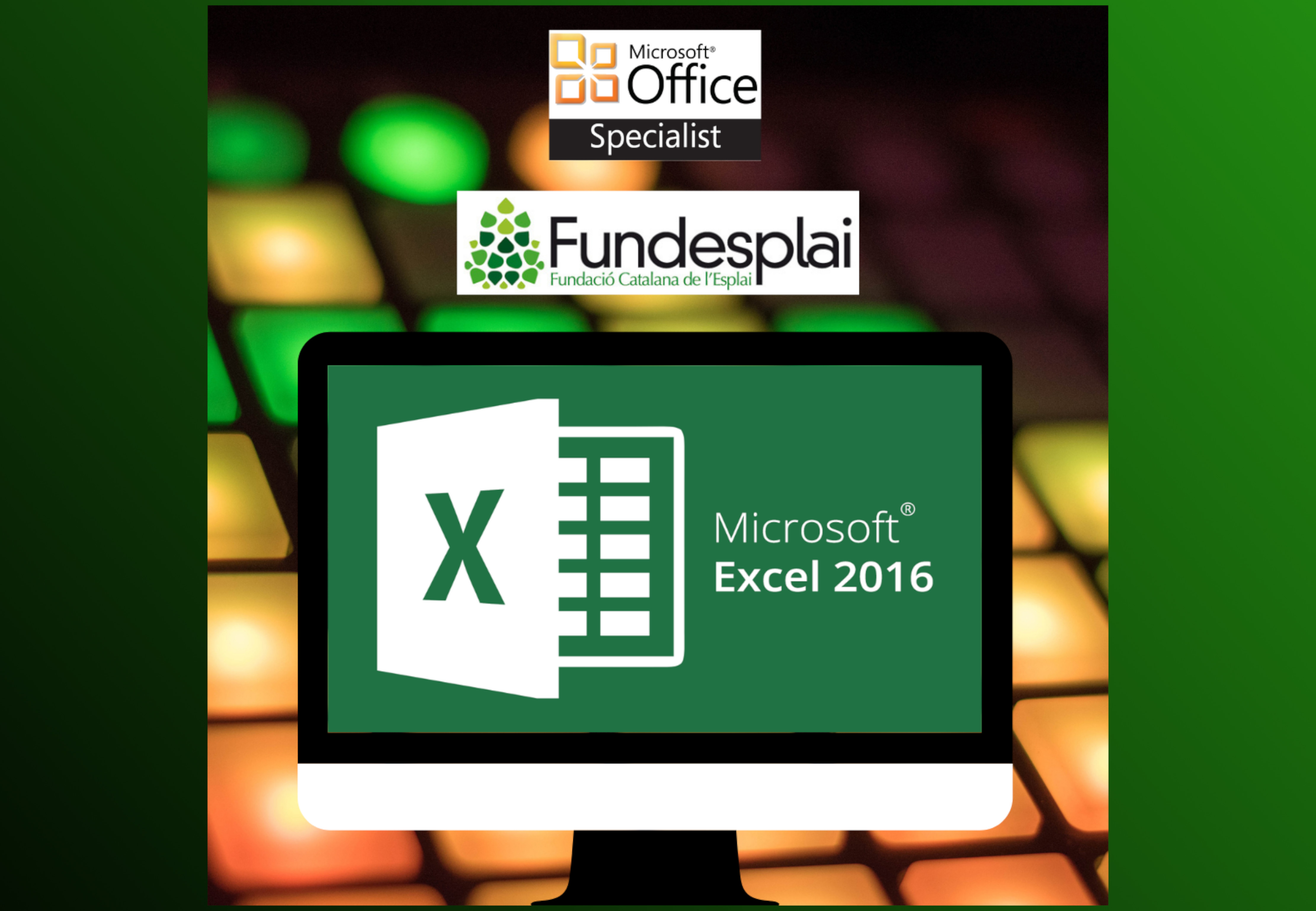 MICROSOFT OFFICE SPECIALIST - EXCEL 2016